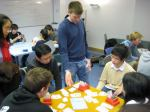 Jon Green teaching Bridge to LSE students in 2008